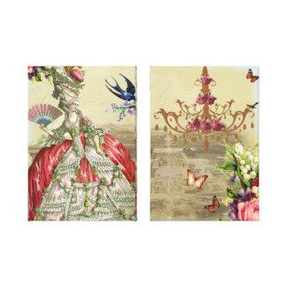 Recuerdos de Versalles Impresión En Lienzo Estirada