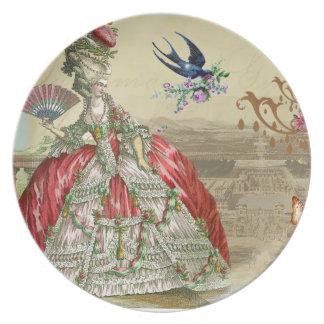 Recuerdos de Versalles Platos Para Fiestas