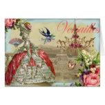 Recuerdos de Versalles Tarjeta