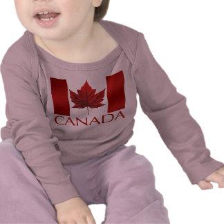 Recuerdos del bebé de Canadá de la camisa del bebé