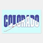Recuerdos del estado de Colorado Etiquetas