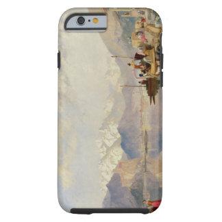 Recuerdos del Lago Maggiore, día de mercado en Funda De iPhone 6 Tough