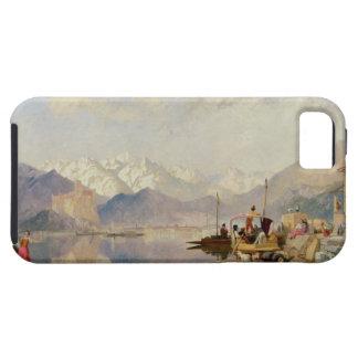 Recuerdos del Lago Maggiore, día de mercado en iPhone 5 Fundas
