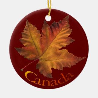 Recuerdos del ornamento de Canadá y regalos de Can Adornos De Navidad