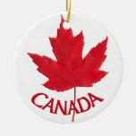Recuerdos del ornamento de Canadá y regalos de Adornos