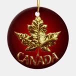 Recuerdos del ornamento de Canadá y regalos de Ornamentos De Navidad