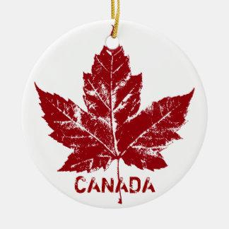 Recuerdos del ornamento de Canadá y regalos Adorno Redondo De Cerámica