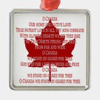 Recuerdos del ornamento de Canadá y regalos del hi Ornamente De Reyes