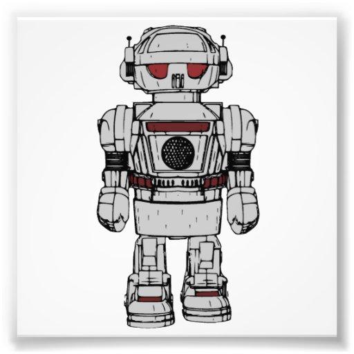Recuerdos del robot de propulsión atómica del cojinete