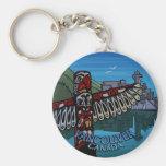 Recuerdos del tótem del llavero de Vancouver Canad