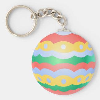 Recuerdos festivos del huevo de Pascua del llavero