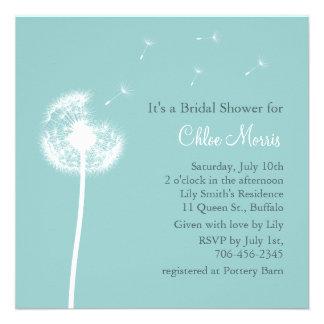 ¡Recuerdos! Invitación nupcial de la ducha (turque