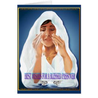 Recuerdos para la tarjeta del Passover