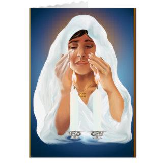 Recuerdos para la tarjeta Passover-llana