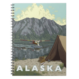 Recuerdos planos de Alaska Bush Cuaderno