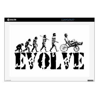 Recumbent Bicycle Evolution Fun Sports Art Laptop Decals