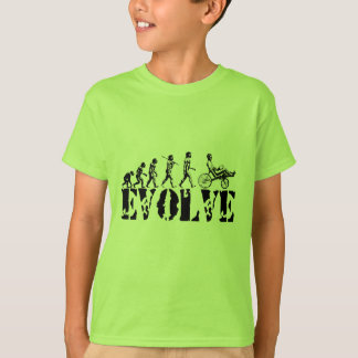Recumbent Bicycle Evolution Fun Sports Art T-Shirt