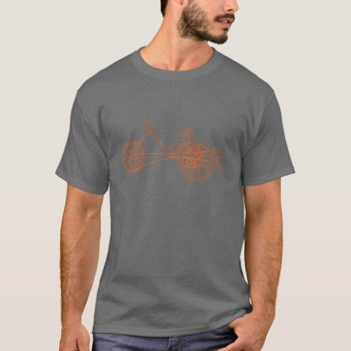 Recumbent Trike Dark T_Shirt