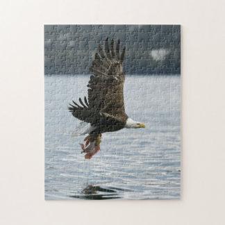 Recuperación de los pescados de Eagle calvo Rompecabeza