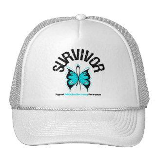 Recuperación del apego de la mariposa del SUPERVIV Gorros Bordados