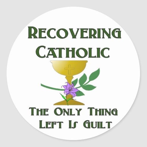 Recuperación del católico etiquetas
