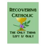 Recuperación del católico postales