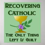 Recuperación del católico poster