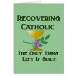 Recuperación del católico tarjeta