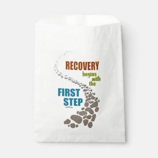 Recuperación, el primer paso (el paso 12, droga bolsa de papel