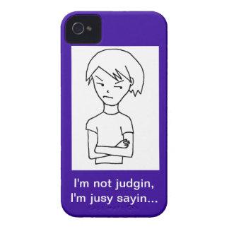 Recuperación Judgin Funda Para iPhone 4
