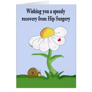 Recuperación rápida de la tarjeta de la cirugía de