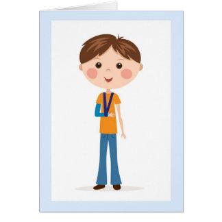 Recuperación rápida - muchacho del dibujo animado