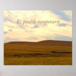 Recuperarse posible de la recuperación Poster/Es Póster