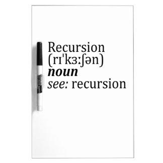 Recursion Dry-Erase Boards