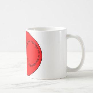 recursion through negation classic white coffee mug