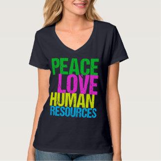 Recursos humanos del amor de la paz playera