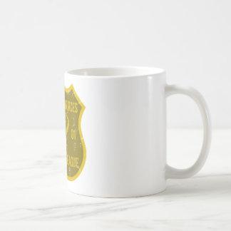 Recursos humanos que beben a la liga taza de café