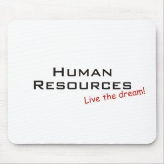 Recursos ideales/humanos alfombrilla de raton