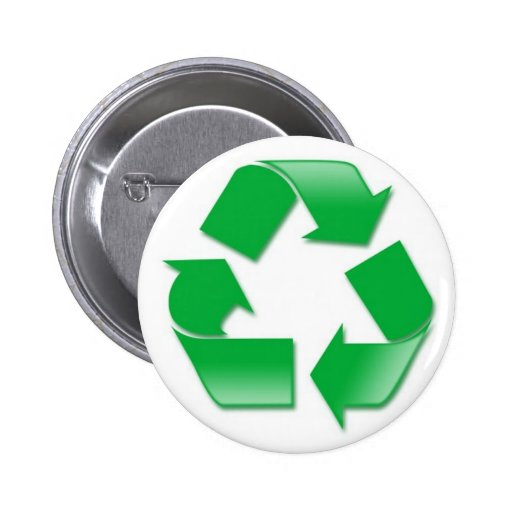 Recycle2 2 Inch Round Button