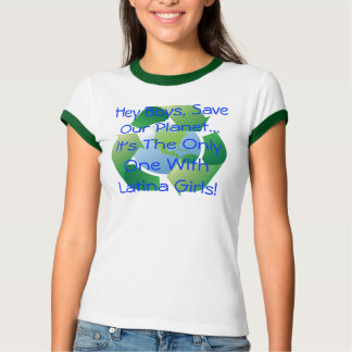 recycle[1], Hey Boys, Save Our Planet... It's T... T-Shirt