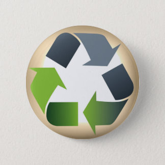 Recycle #1 pinback button