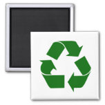 recycle 2 inch square magnet