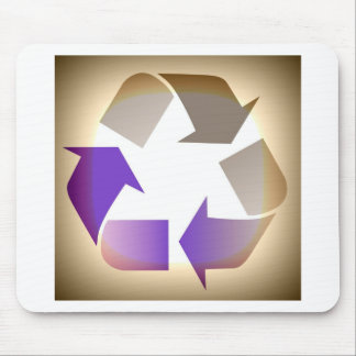 Recycle #2 mouse pad