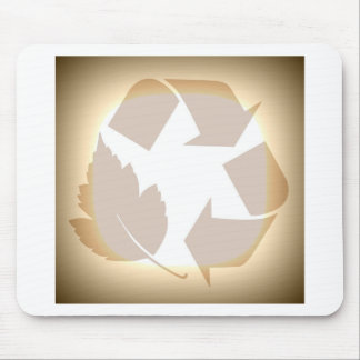 Recycle #3 mouse pad
