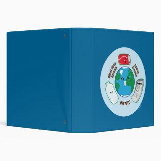 Recycle 3 Ring Binder