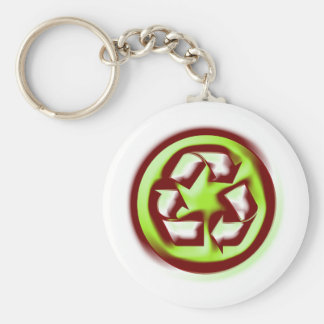 Recycle 4 keychain