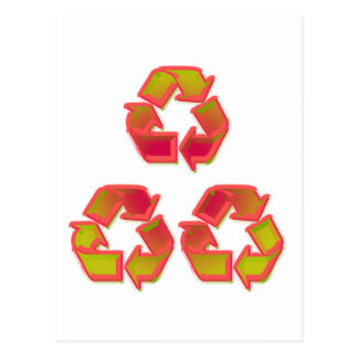Recycle 8 postcard