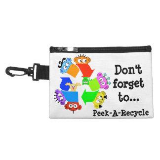 Recycle A la Planet Peek-A-Boo Accessories Bag