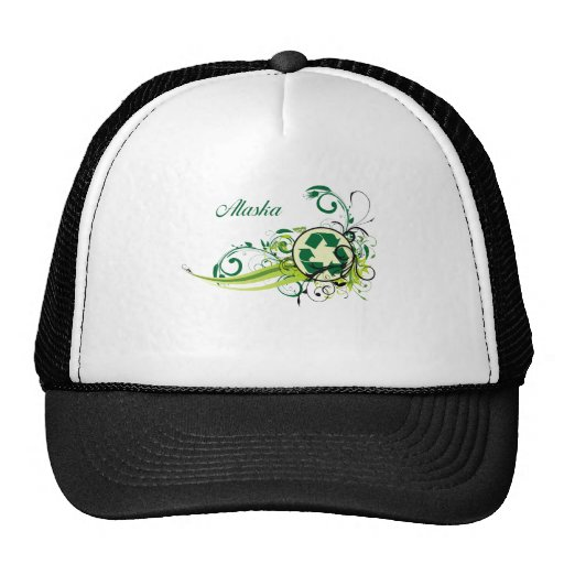 Recycle Alaska Trucker Hat