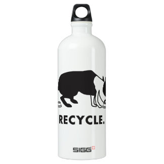 Recycle Aluminum Water Bottle